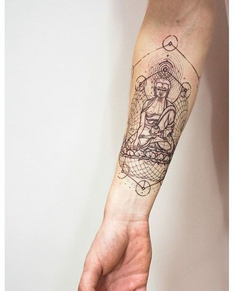 55 New Style Buddha Tattoo On Full Sleeve: The Breathtaking Detail In These
