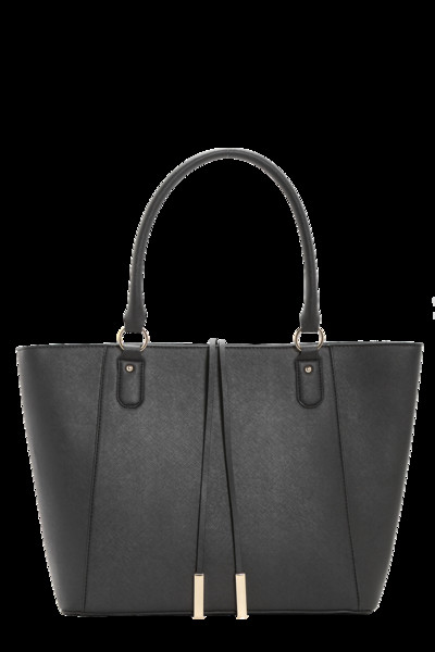 Boohoo Emma Structured Crosshatch Tote Bag