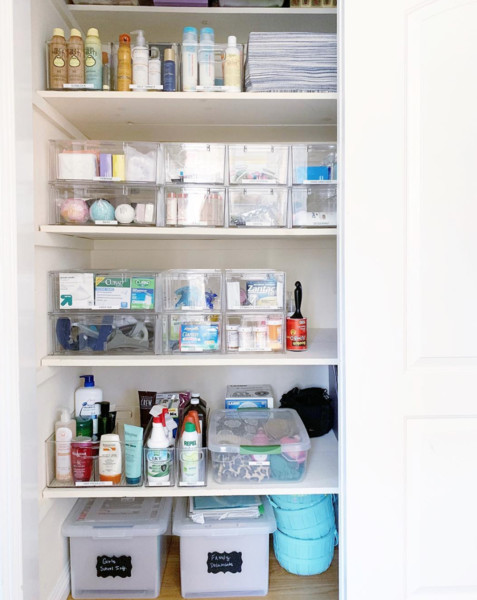 Closet Organization Tip #3: Arrange By Priority