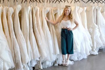 Everything I Learned from Wedding Dress Shopping with Designer Hayley Paige