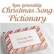 Try Christmas Song Pictionary