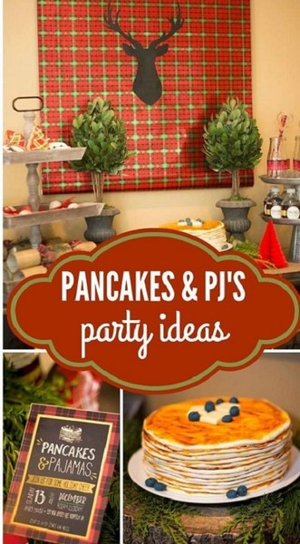 """Pancakes & PJs"" Party"