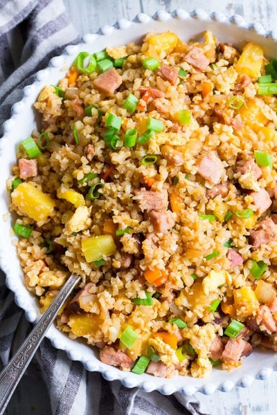 Try Hawaiian Cauliflower Fried Rice