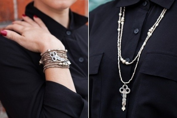 Cur Obsession Raven Lily X The Giving Keys Convertible Jewelry