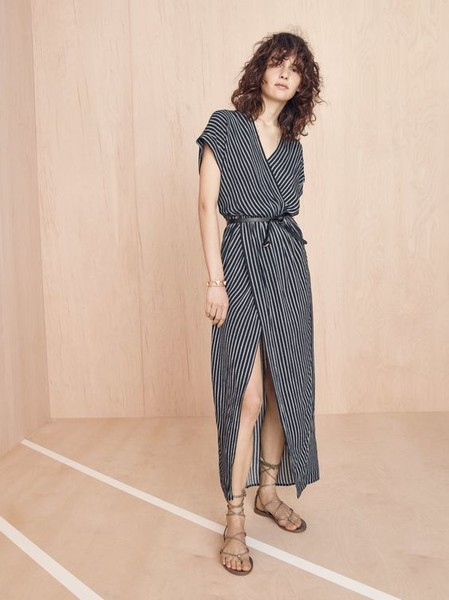 Incorporate Loose Wrap Dresses