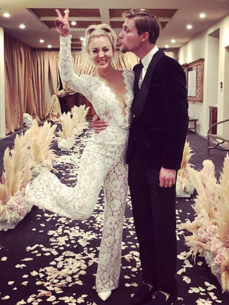 The Most Daring Celebrity Wedding Gowns Livingly