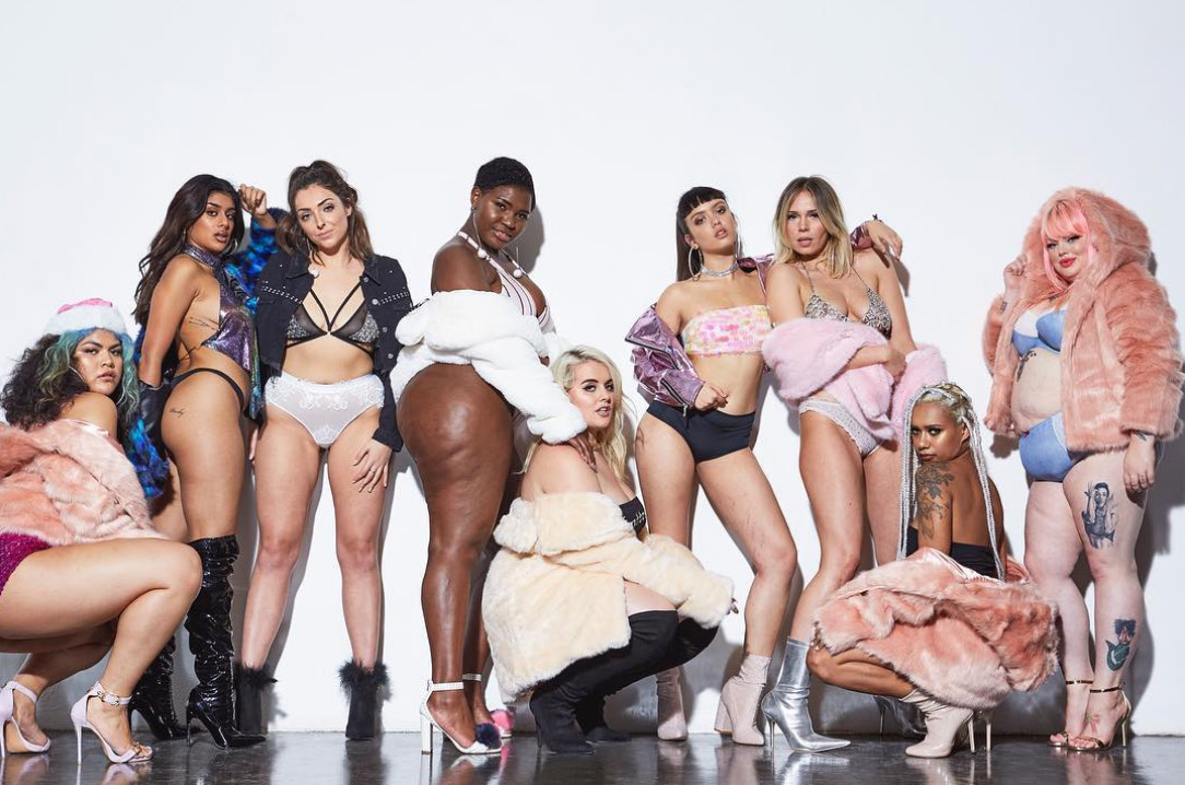 UK Brand Missguided Celebrates Body Positivity With Their #MakeYourMark Campaign