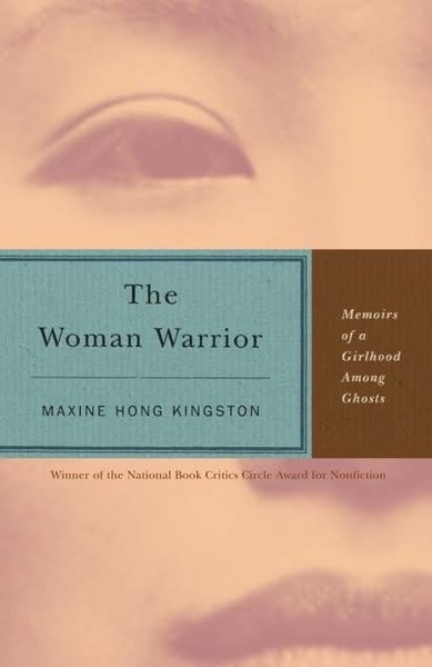 The Woman Warrior, Maxine Hong Kingston