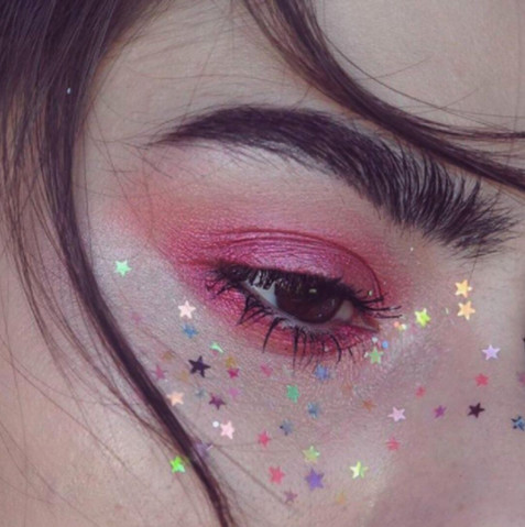 Rainbow Star Freckles