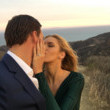 Ryan Lochte proposed at sunset after a surprise helicopter tour.