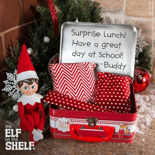 Wrapping Paper Lunches Elf On The Shelf Ideas Livingly