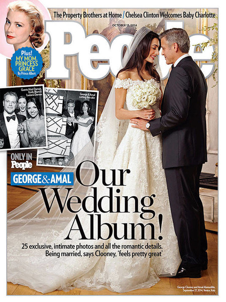 George Clooney and Amal Alamuddin - 2014