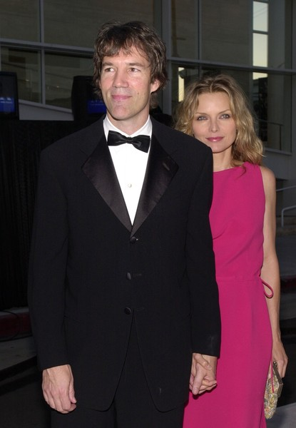 Michelle Pfeiffer and David E. Kelley Then