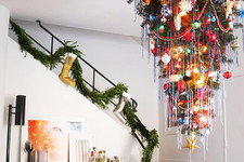 How Cool Creatives Decorate Their Christmas Trees
