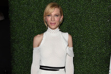 Look of the Day: Cate Blanchett's Lovely Mesh