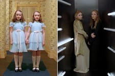 Mary-Kate & Ashley Olsen Channel 'The Shining' Twins in a New Video for 'Vogue'