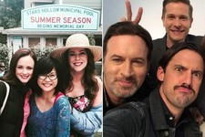 The Best Behind-the-Scenes Photos from 'Gilmore Girls: A Year in the Life'