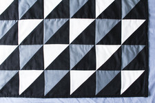 DIY Geometric Tiles Quilt Tutorial