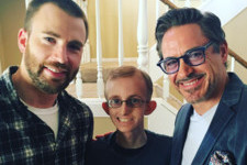 Gwyneth Paltrow, Chris Evans, and Robert Downey Jr. Team Up to Surprise 'Avengers' Fan With Cancer