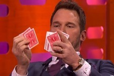 Watch Chris Pratt Hilariously Work His Way Through Some Real Magic