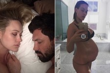 Maksim Chmerkovskiy Posts an Adorable Video of One Very Pregnant, Sleepy Peta Murgatroyd