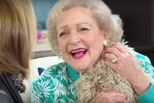 You Need to See Betty White Being Gifted a Stuffed Sloth on Her 95th Birthday