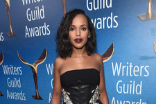 Look of the Day: Kerry Washington's Edgy Glam