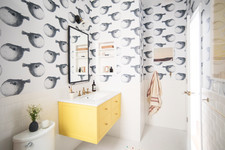 15 Ways To Make A Small Bathroom Pop