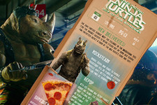 All the New 'Turtles' Villains on One Pizza Box!