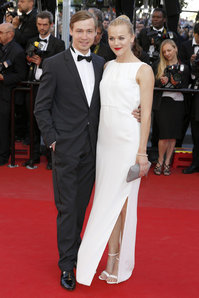 David Kross And Agnes Lindstroem At The 2013 Cannes Film Festival