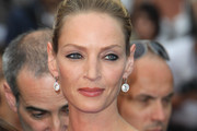 Uma Thurman on the red carpet for the screening of