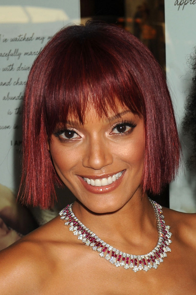 Selita Ebanks Debuts Fiery Red Bob Celebrity Hair Livingly