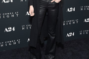 Abbey Lee Kershaw Leather Pants