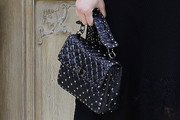 Shailene Woodley Quilted Purse