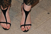 Leighton Meester Strappy Sandals