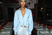 Jourdan Dunn Button Down Shirt