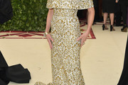 Naomi Watts Embroidered Dress