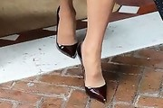 Christie Brinkley Pumps