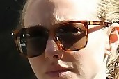 Amanda Seyfried Square Sunglasses