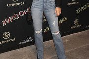 Victoria Justice Ripped Jeans