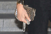 Gisele Bundchen Metallic Clutch