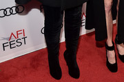 Kris Jenner Over the Knee Boots