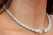 Eva Longoria Diamond Collar Necklace