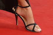 Bianca Balti Strappy Sandals