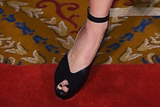 Bridget Moynahan Peep Toe Pumps