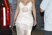 Kim Kardashian Lace Dress