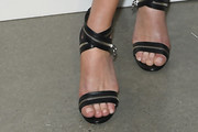 Catherine Zeta-Jones Strappy Sandals