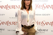 Gina Gershon Button Down Shirt