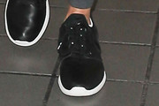 Lisa Rinna Leather Sneakers