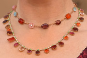 Bryce Dallas Howard Layered Gemstone Necklace